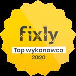 TOP Wykonawca Fixly w 2020 roku